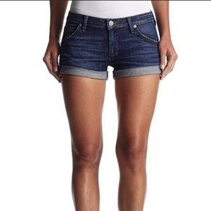 💖 Hudson Hampton Cuffed Stretch Jean Shorts 27